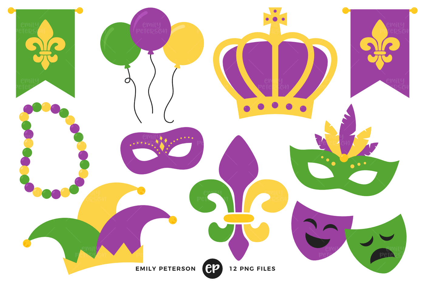 image black and white library Download free png by. Mardi gras clipart.