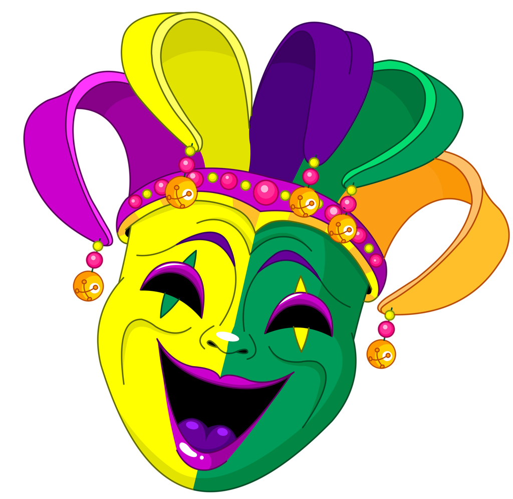 banner black and white download  png silhouettes and. Mardi gras clipart comedy tragedy.