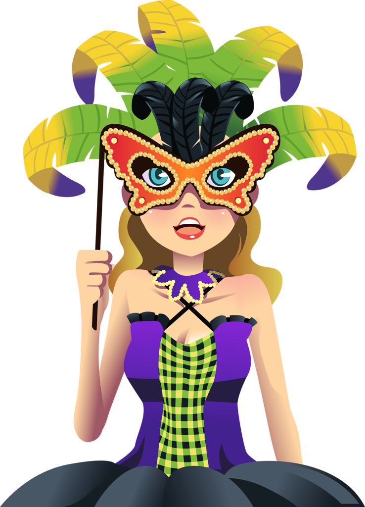 clipart freeuse library  png clip art. Mardi gras clipart comedy tragedy.