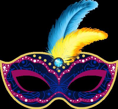 picture black and white library Mardi Gras Mask clip art