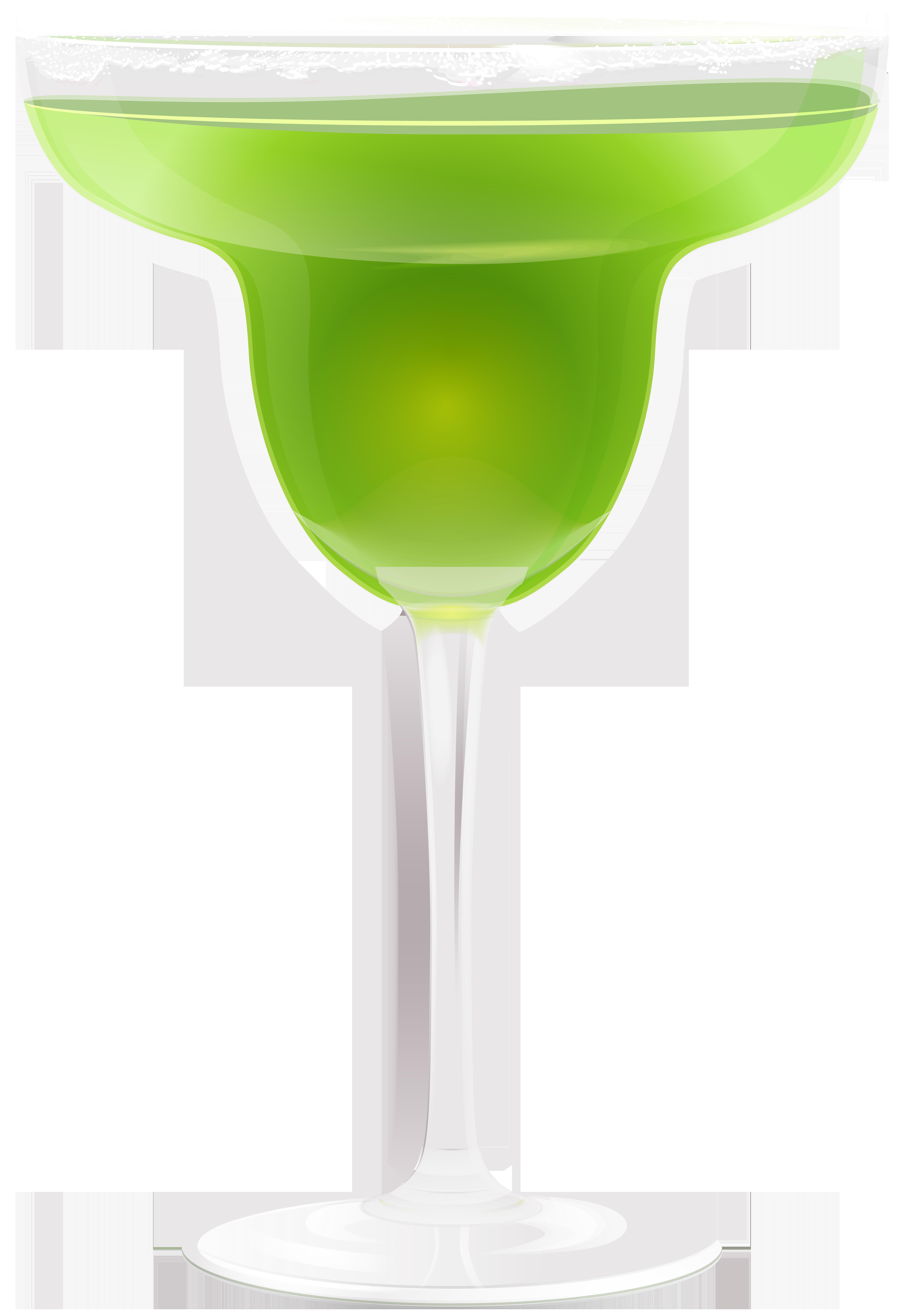jpg freeuse Green drink clip art. Margarita clipart birthday.