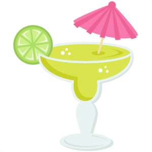 picture royalty free library Margarita clipart. Miss kate cuttables svg.