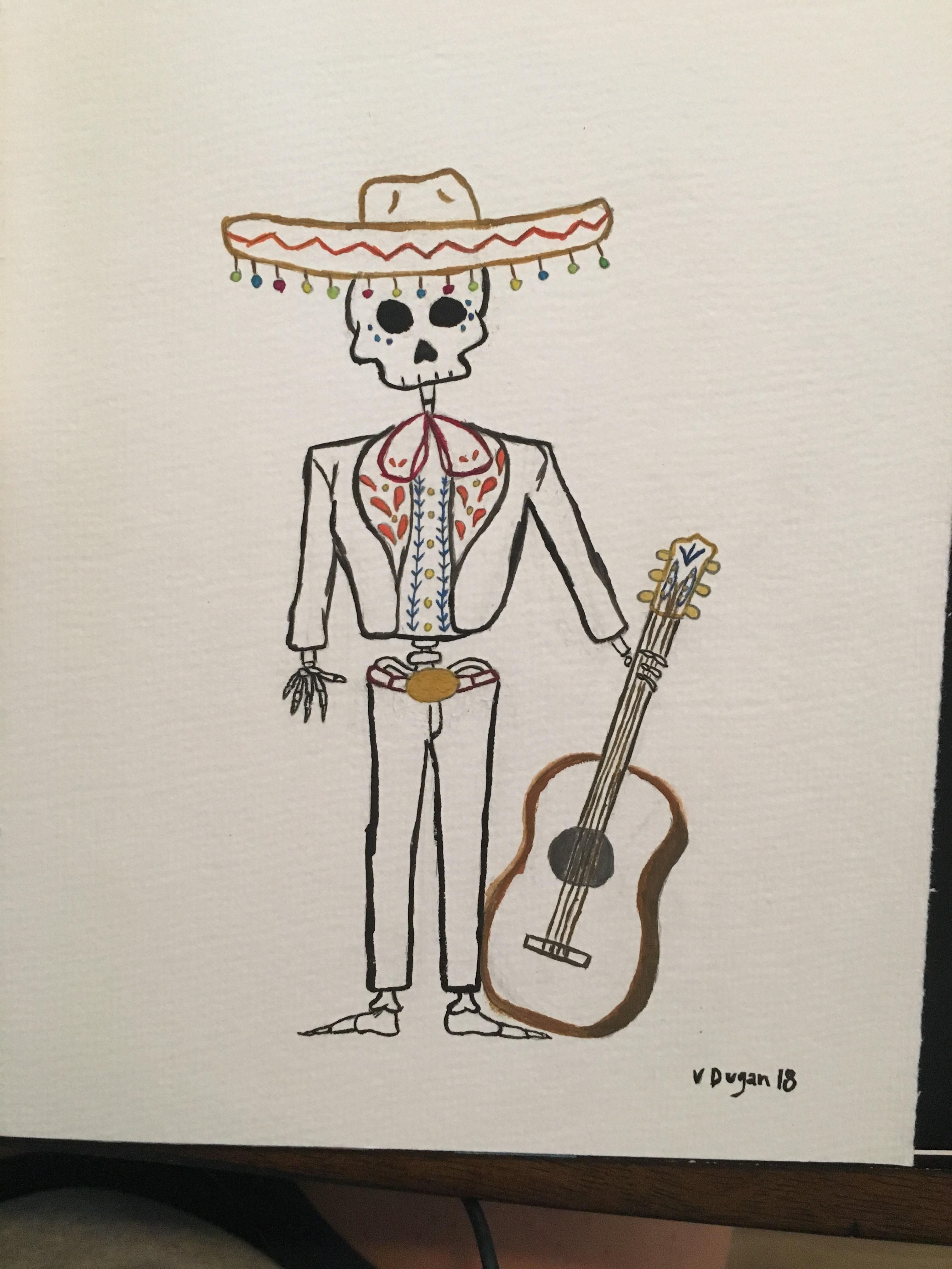 banner free Mariachi drawing. At paintingvalley com explore.