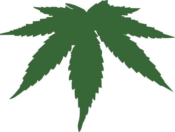 clipart freeuse library Cannabis Leaf Clip Art at Clker