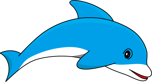 picture transparent Vector dolphin line art. Marine animals clipart at
