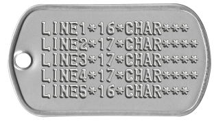 banner library download marine drawing dog tag #99348478