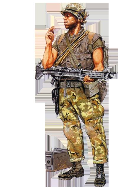 png free download Marine machine gunner