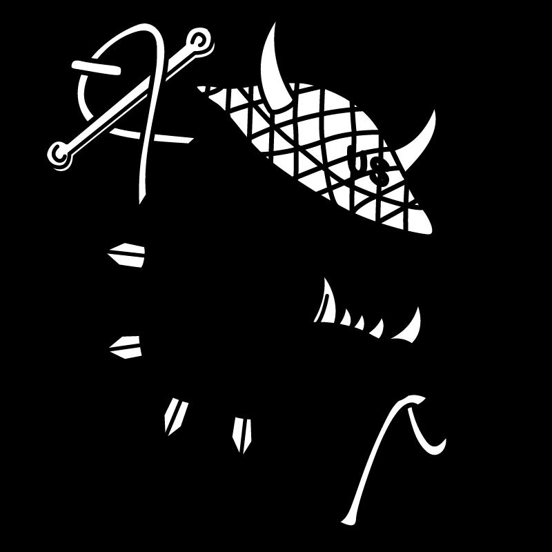 banner transparent Devil Dog Drawing at GetDrawings