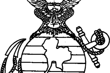 image stock marines symbol drawing