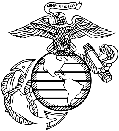 clip library download marines drawing marine corps tattoo #99367802