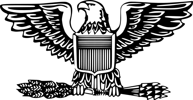 vector black and white stock marines svg eagle #99378619