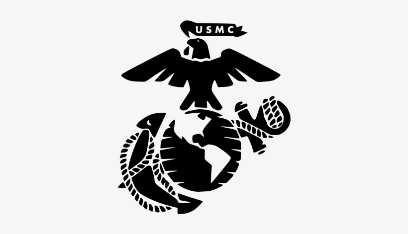 transparent download United States Marine Corps Eagle
