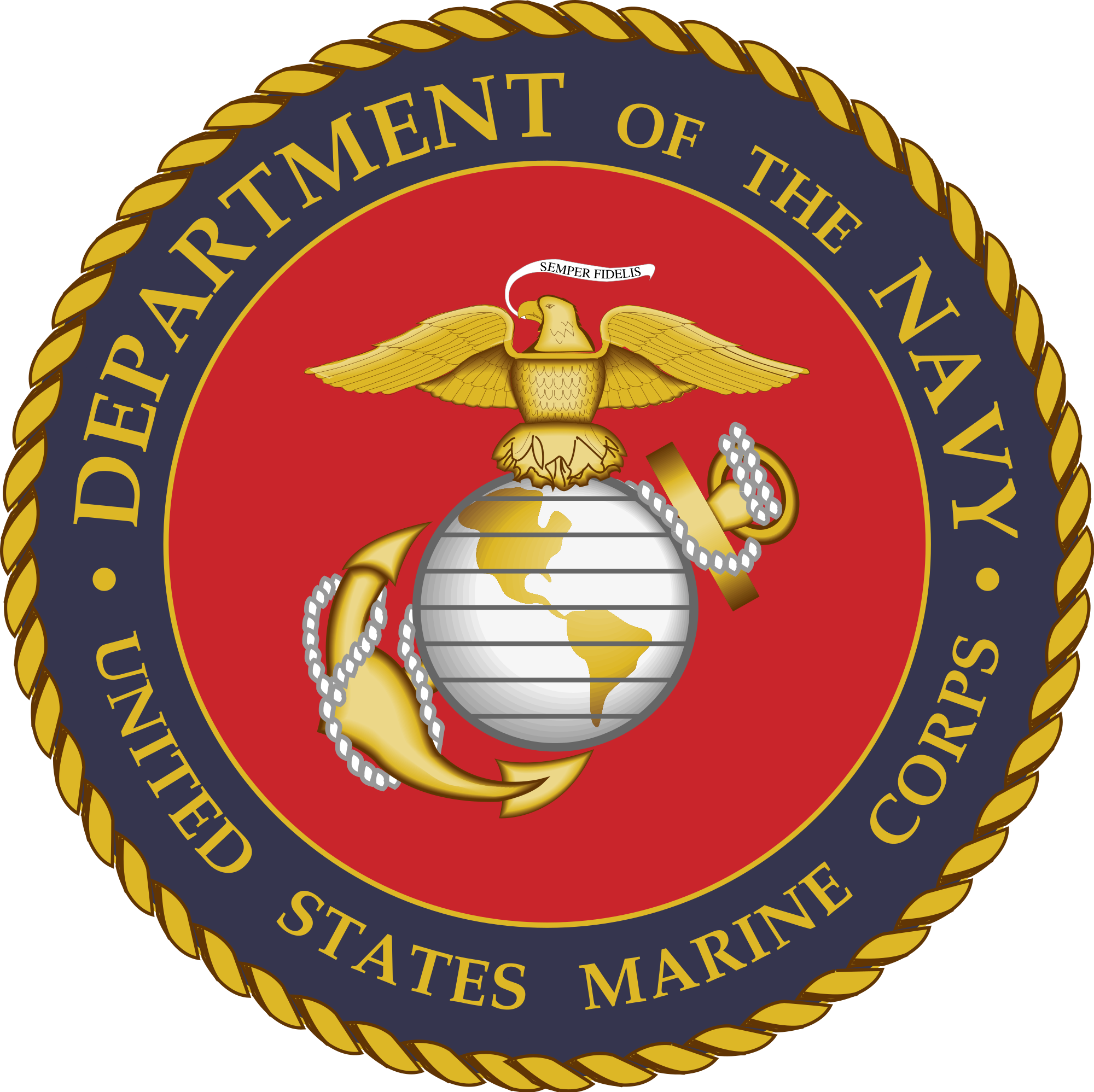 jpg library download marines svg emblem #99377412