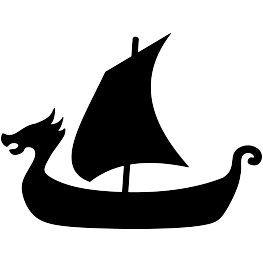 clip art library download Viking Ship Silhouette