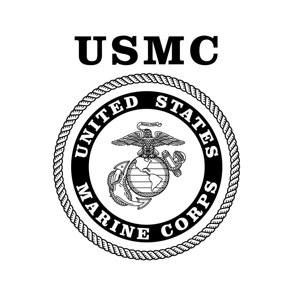 graphic free Marines Logo Drawing at GetDrawings