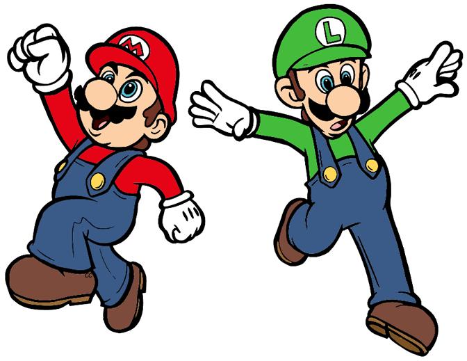 image stock Super bros clip art. Mario clipart.