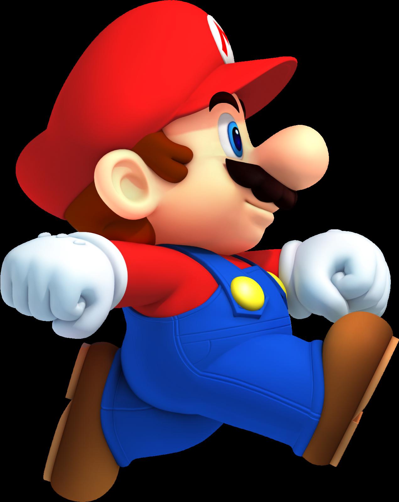 free Mario clipart. Super bros clip art.