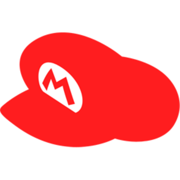 vector freeuse stock Mario Hat