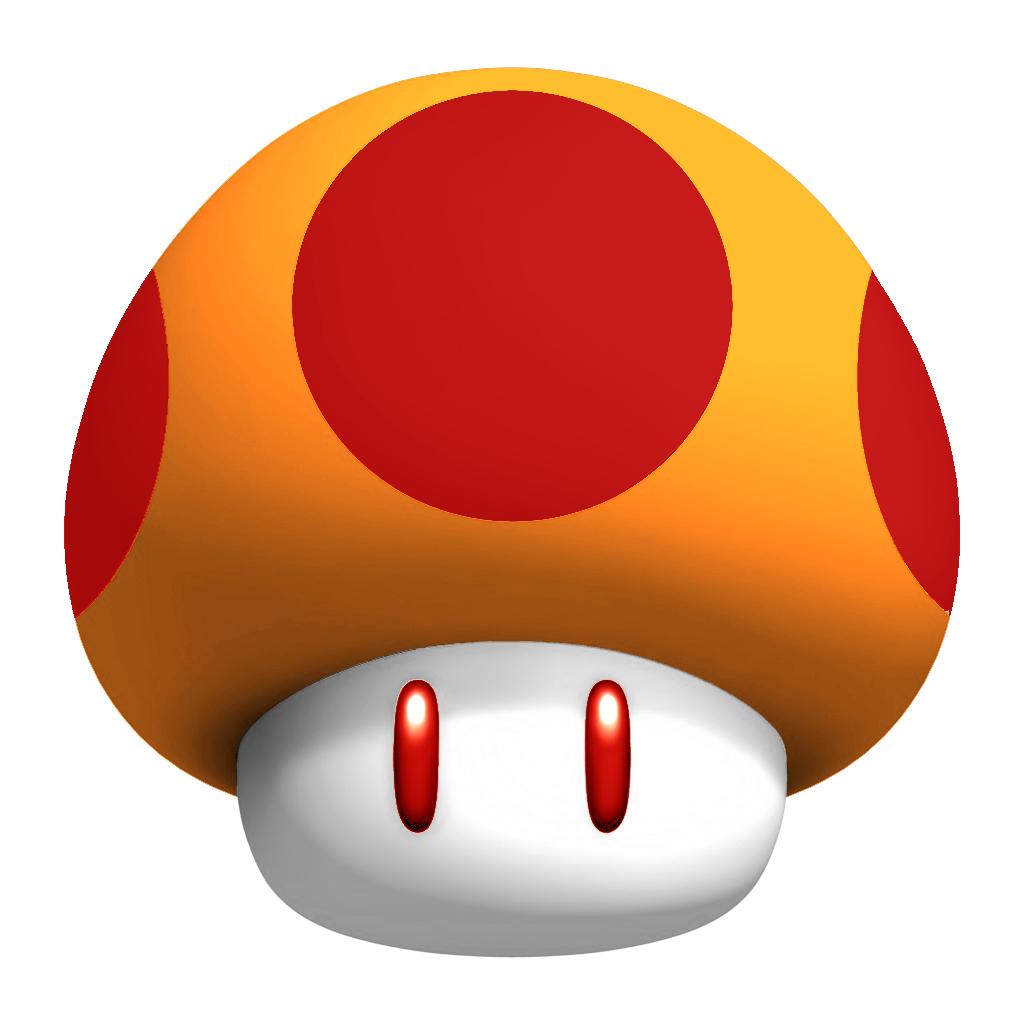 vector free stock Classic Mushroom
