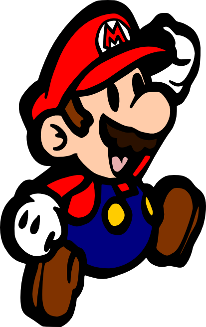 picture black and white library mario svg #87317639