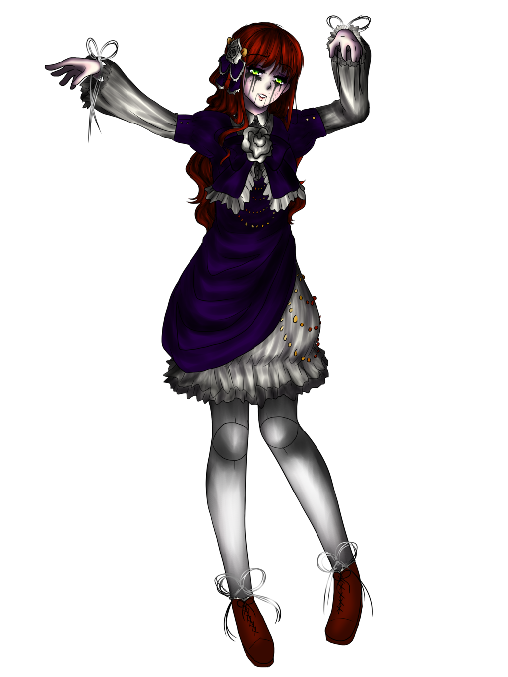 clipart free stock Marionette drawing. Cyr as a creepy