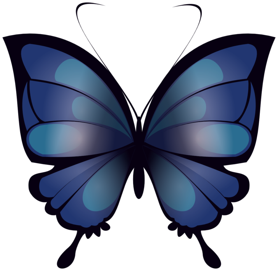 png royalty free download Mariposa Azul blue butterfly by vhzc on DeviantArt
