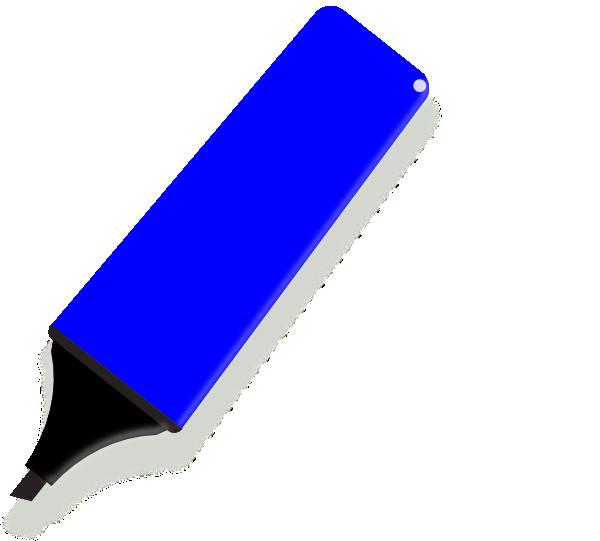 banner Blue clip art at. Marker clipart