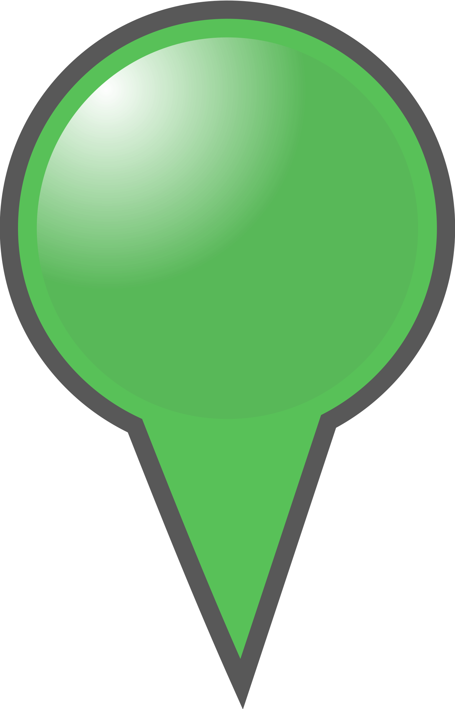 jpg Marker clipart. Green map big image