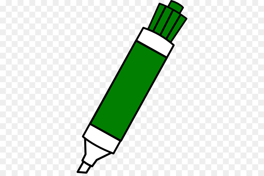 vector freeuse download Marker clipart. Pencil cartoon green line.