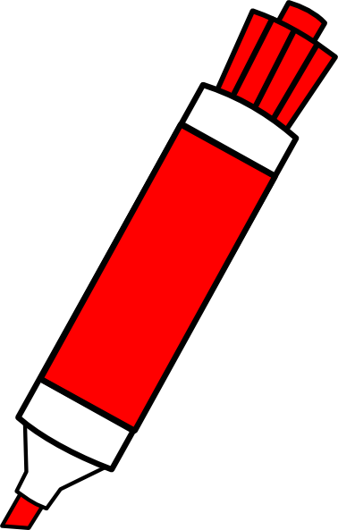 image transparent stock Red Marker Clipart