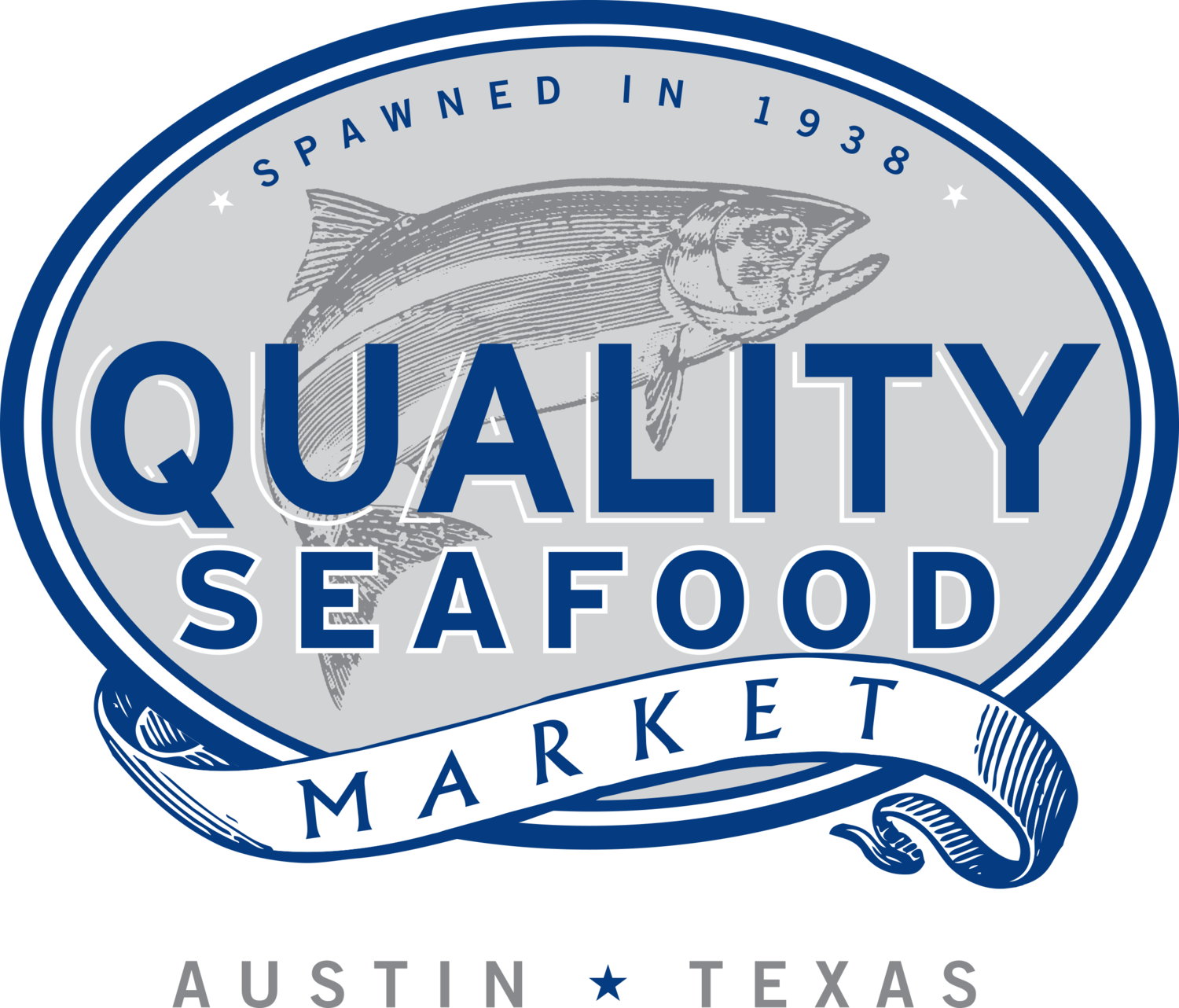 jpg transparent download Fish market clipart. Quality seafood
