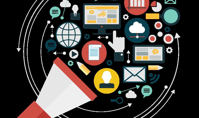 vector freeuse stock Online marketing social on. Market clipart free enterprise.
