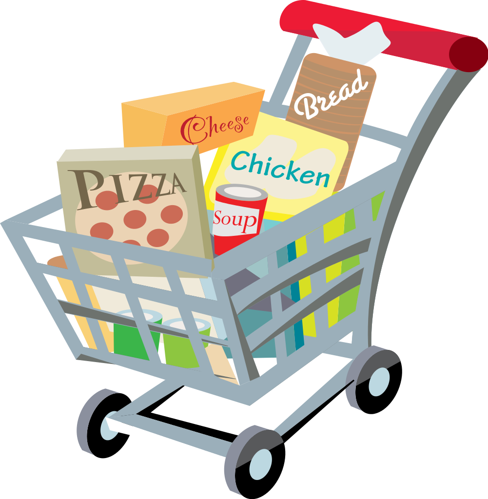 image freeuse Trolley Clipart going to market