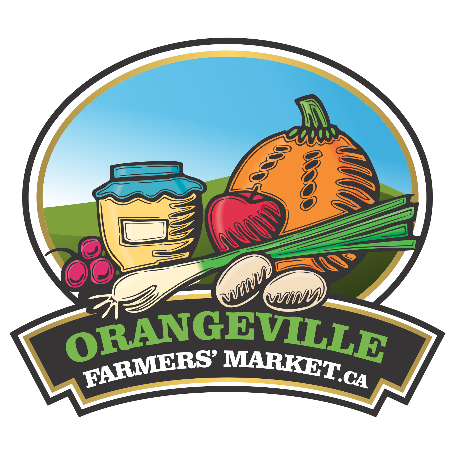 picture library Market clipart outdoor market. Orangeville farmers headwaters more.
