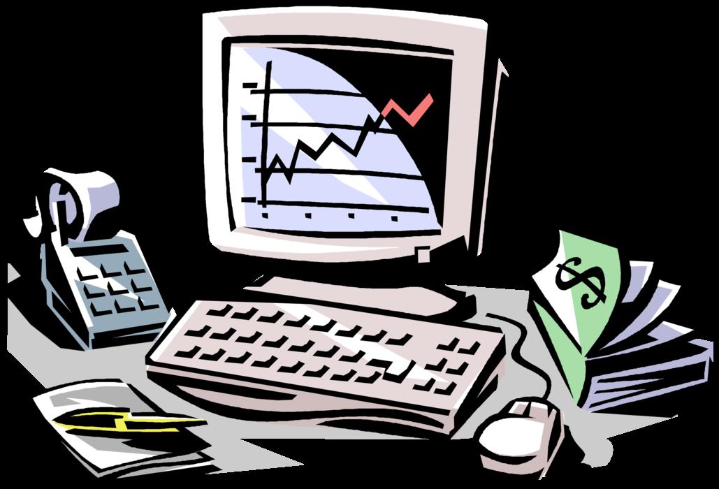 jpg library download Vector charts market. Stock analysis chart image