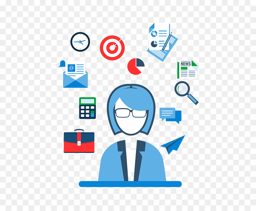 image free Project management icon business. Marketing clipart.