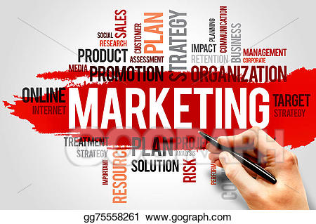 picture freeuse library Stock illustration gg gograph. Marketing clipart met.