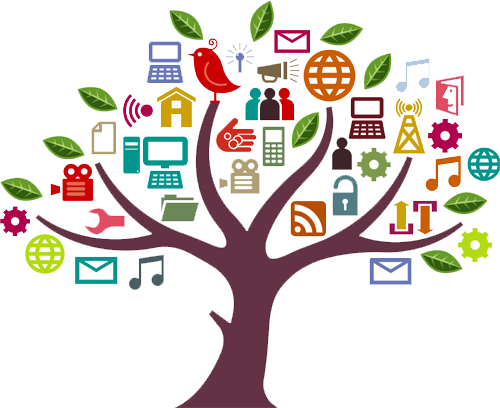 graphic library stock Online digital media free. Marketing clipart tree.