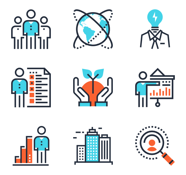 picture free stock Two tone icon family. Marketing clipart share market.