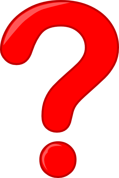 clip black and white Question mark png images. Marks clipart big red.