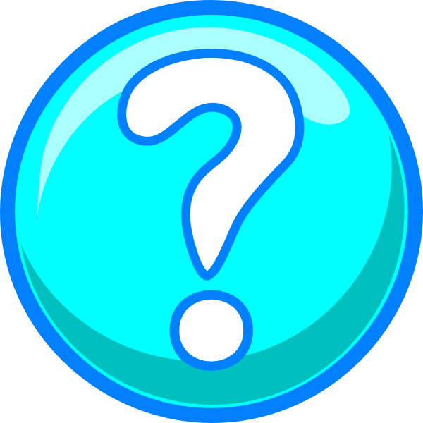 graphic freeuse Marks clipart light blue. Question mark clip art.