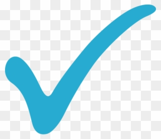 clipart royalty free Check mark full size. Marks clipart light blue.