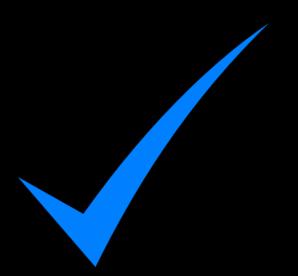 svg freeuse stock Check mark clip art. Marks clipart light blue.