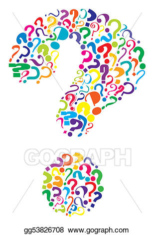 jpg free Marks clipart many. Eps vector questions stock.