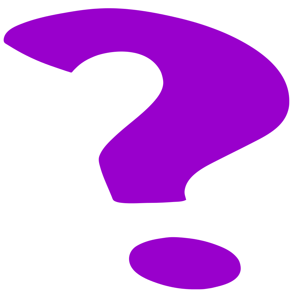 jpg stock File purple mark svg. Marks clipart random question.