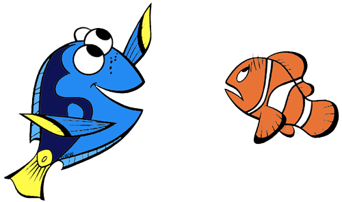 banner free library Marlin finding nemo clipart. Clip art disney galore.