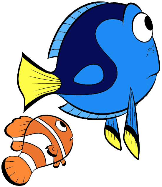 free download Marlin clipart illustration. Finding dory clip art.