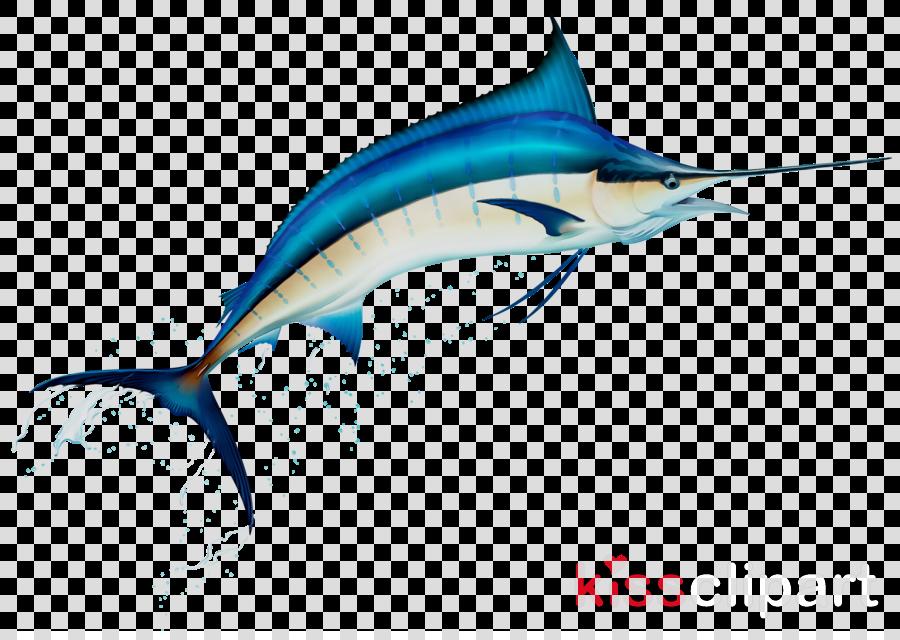 jpg freeuse library Fishing cartoon fish . Marlin clipart illustration.