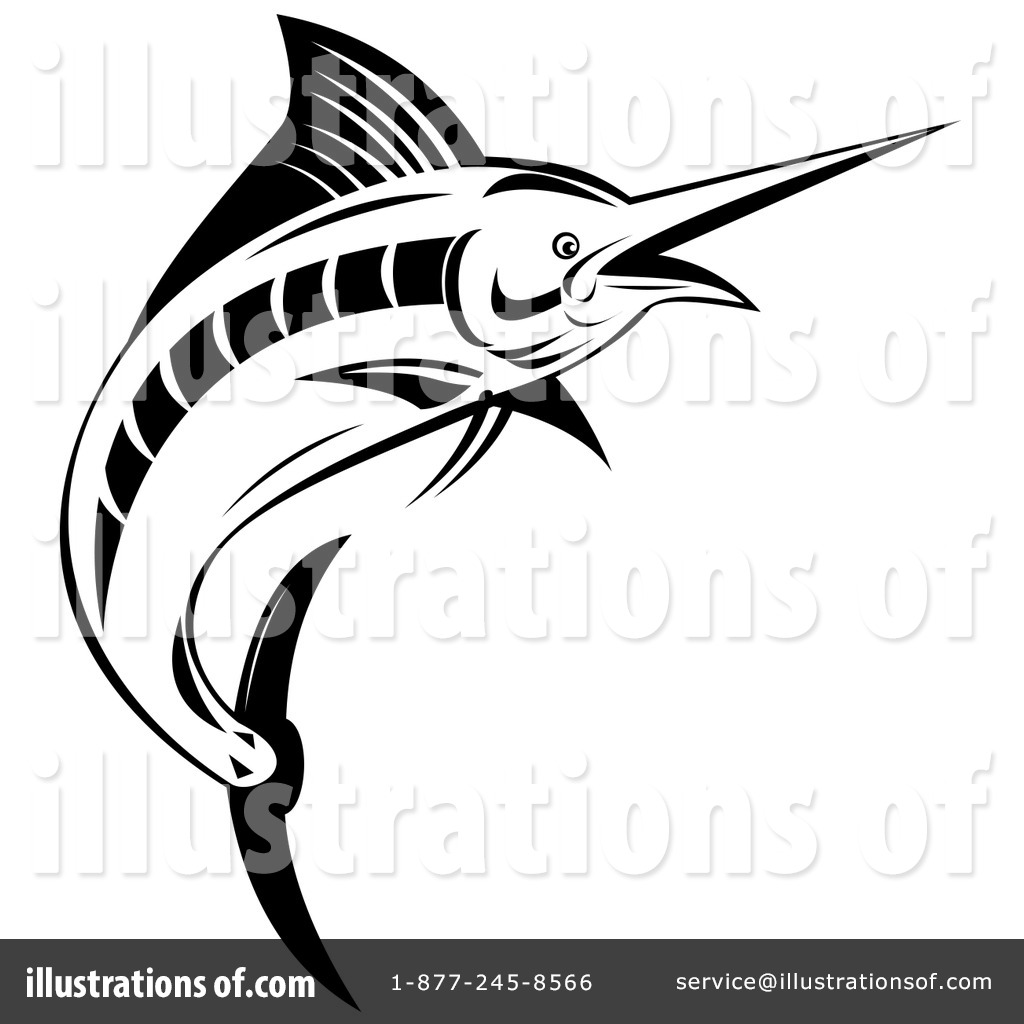 freeuse download Marlin clipart illustration. By patrimonio .