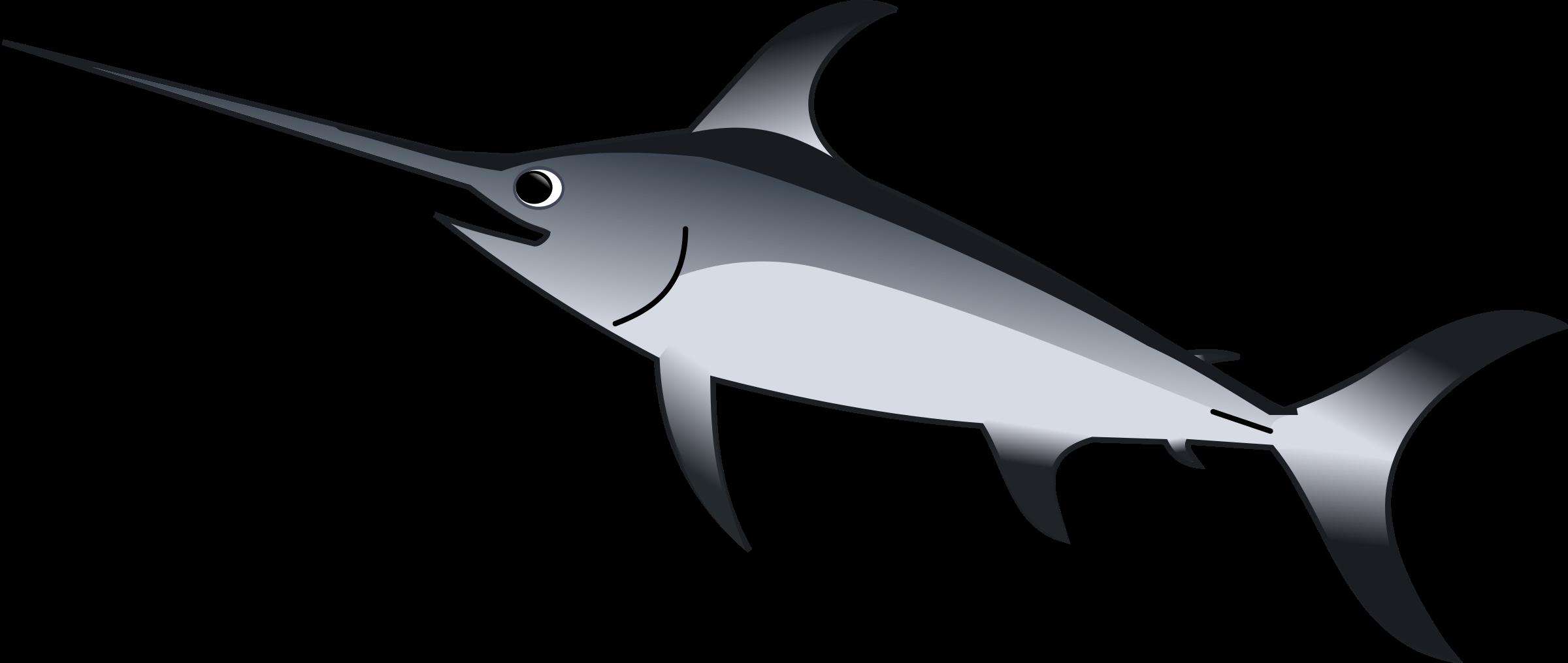 banner black and white stock Gladius big image png. Marlin clipart xiphias.